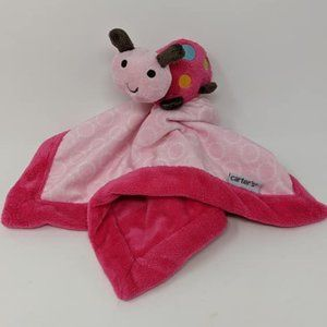 Carter's Ladybug Baby Lovey Security Blanket